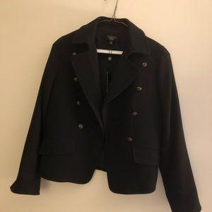 NWT Talbots Pea coat